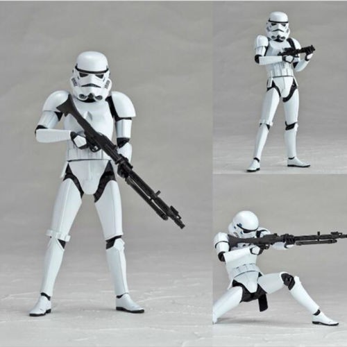 Kaiyodo Revoltech Star Wars Revo Boba Fett REPLICA Figure Sci-fi Model with Box