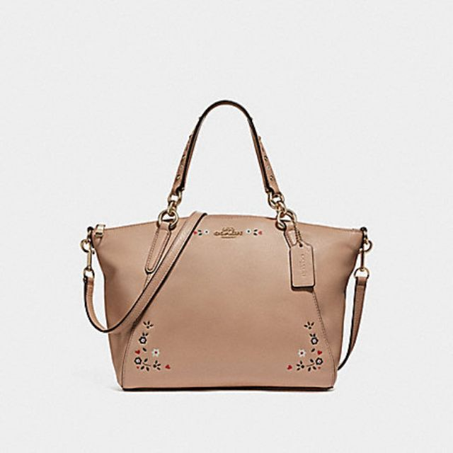 fd1c7cbe9bef7 Coach 28989 Signature Small Kelsey Brown Oxblood