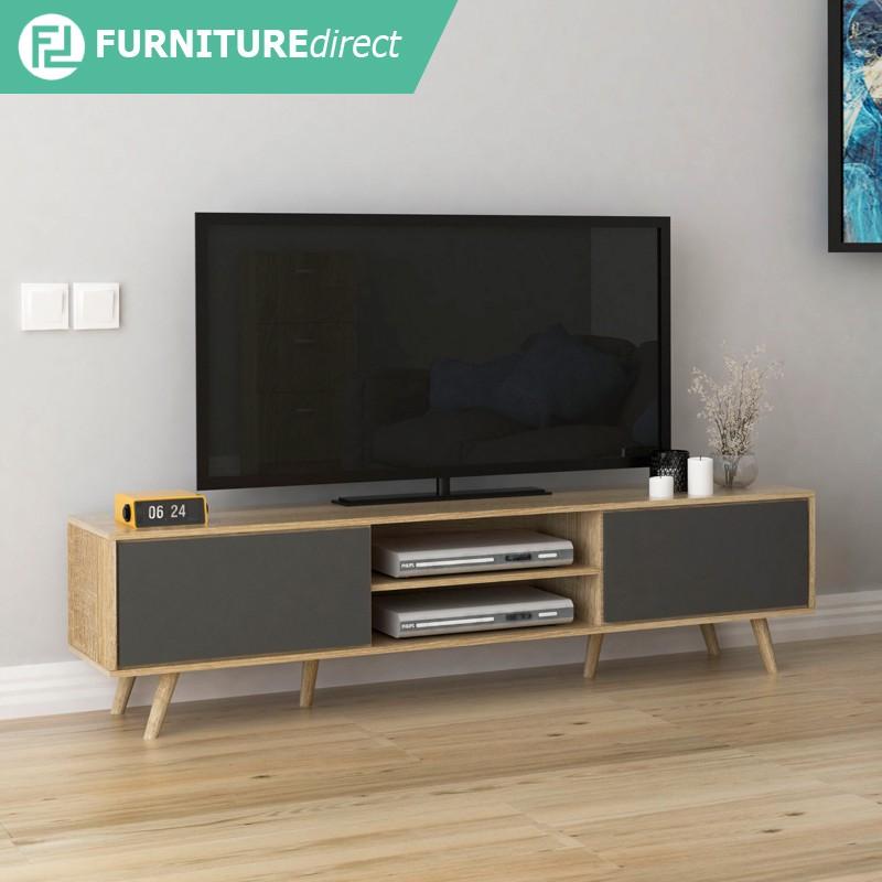 Furniture Direct TANGO 6 feet Scandinavian TV cabinet/ rak TV/ kabinet tv murah