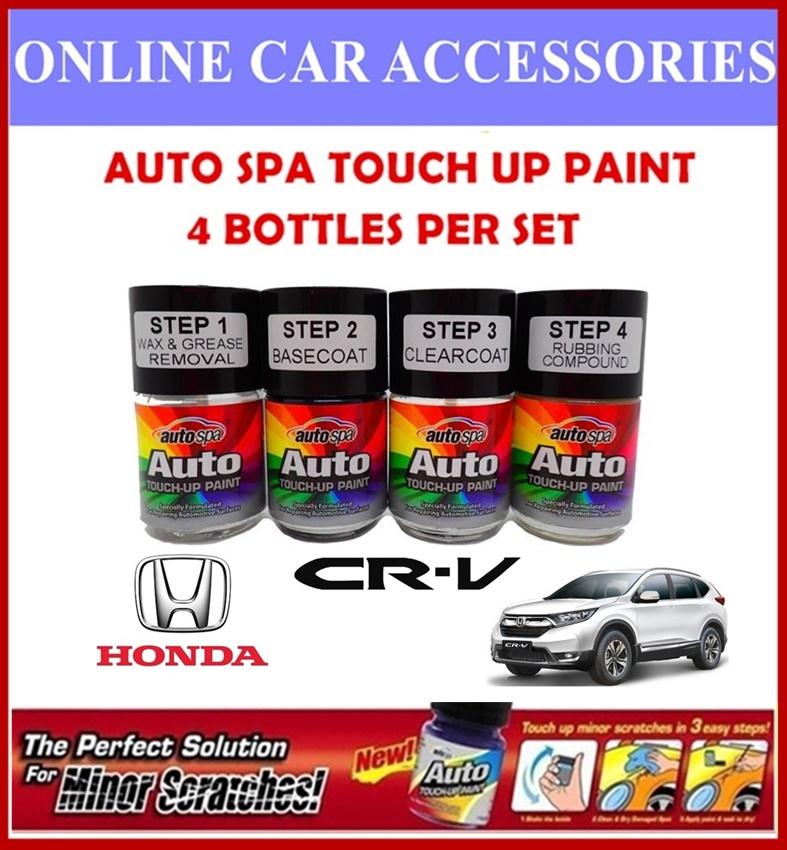 HONDA CR-V Original Touch Up Paint - AUTOSPA Touch Up Combo Set (4 Bottles Per Set)