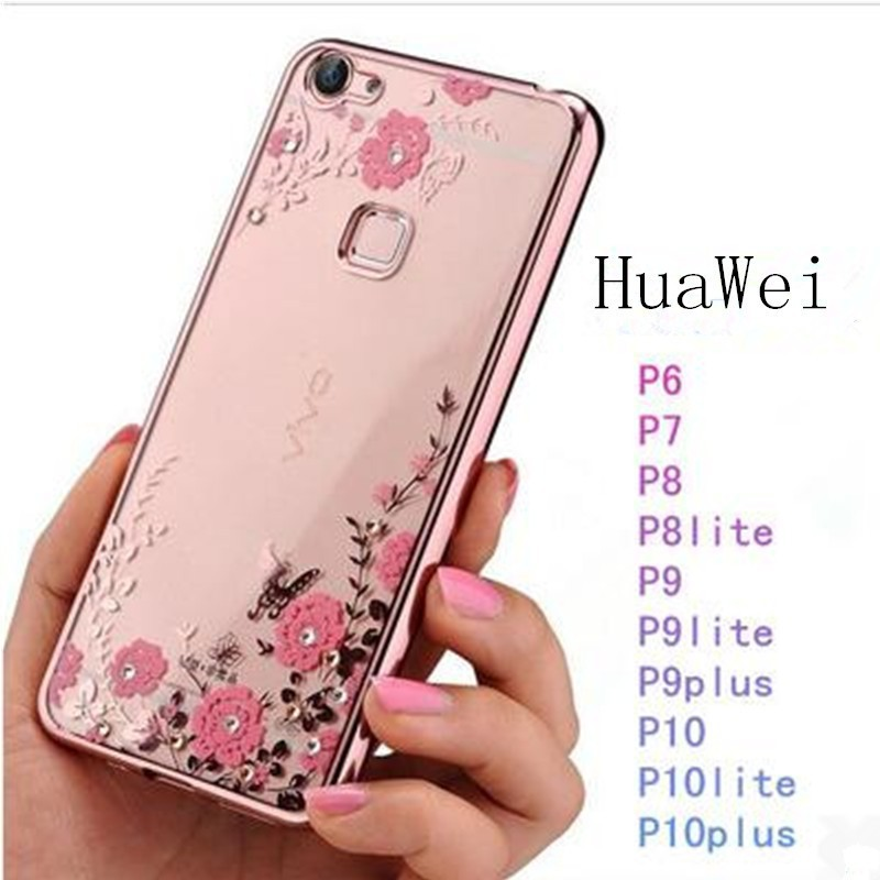 Slim Crystal Clear Transparent Plating TPU Soft Case for Huawei Honor 8 Pro 9 | Shopee Malaysia