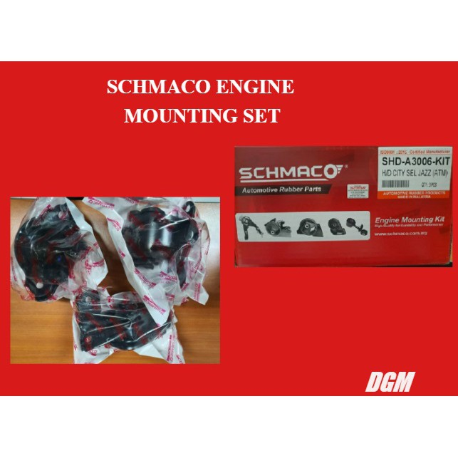 SCHMACO ENGINE MOUNTING SET for KENARI / KELISA (MANUAL)