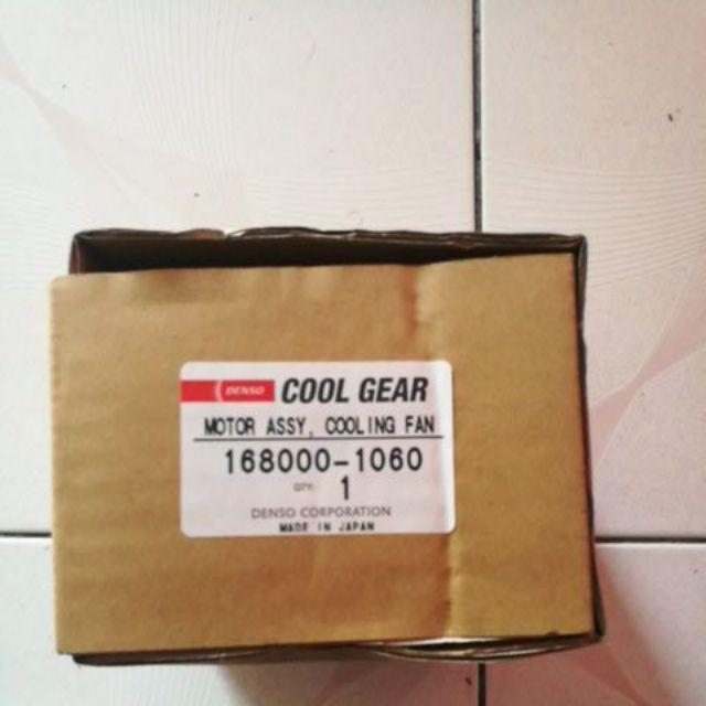 Denso Radiator Fan Motor 1060 for Proton Saga ,BLM FLX , Gen2 '' manual ''