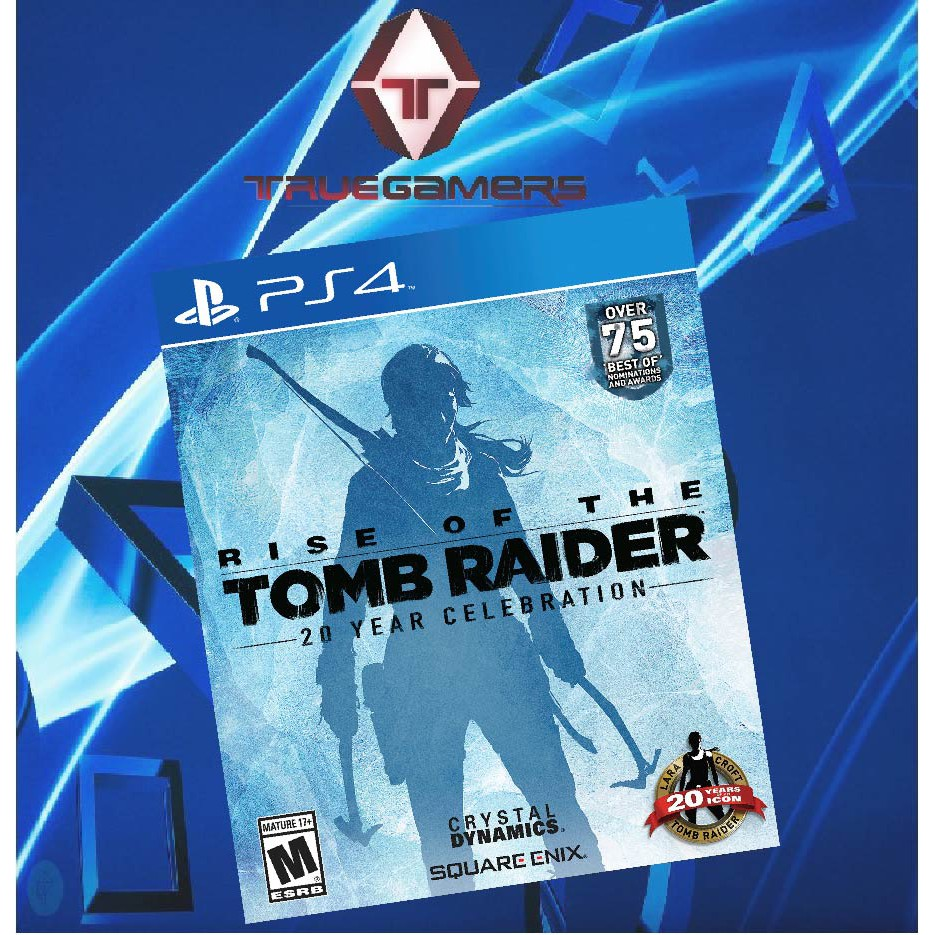 Ps4 Rise Of The Tomb Raider 20 Year Celebration R2 Shopee Malaysia