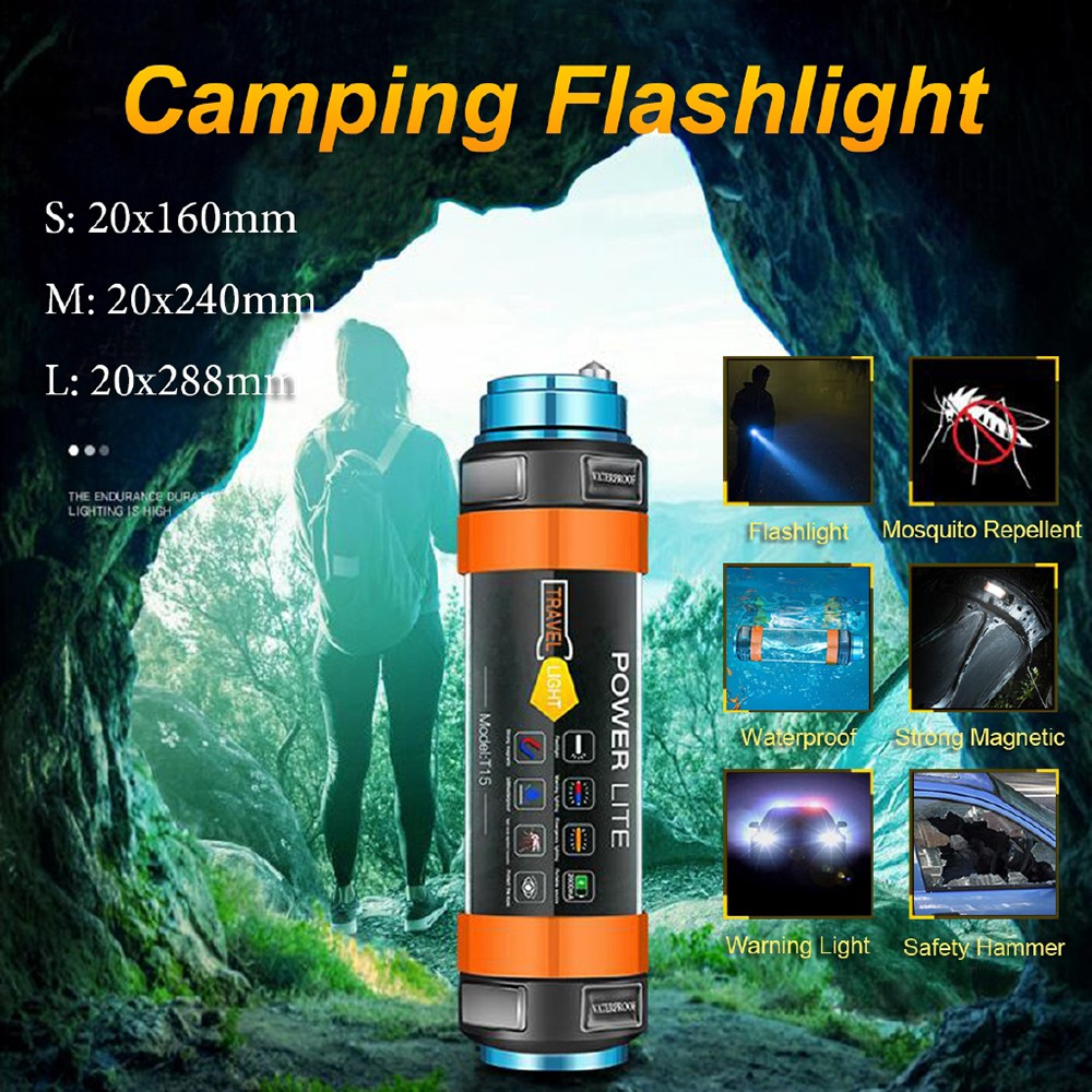 Waterproof tent Light outdoor LED USB Rechargeable Built-in Battery for Camping