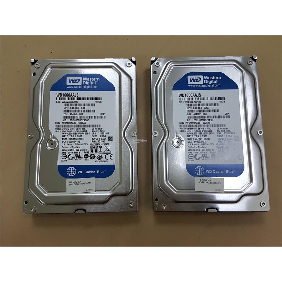(USED/REFURBISHED)  320GB/500GB/1TB/2TB/3TB DESKTOP SATA 3.5 HARDISK (Mix Brand)