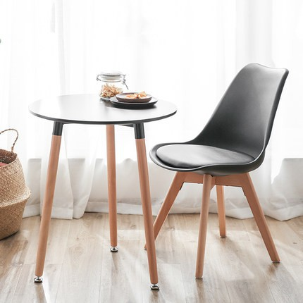 Awesome Spot Nordic Eames Chair Solid Wood Dining Chair Modern Minimalist Office Negotia Gamerscity Chair Design For Home Gamerscityorg