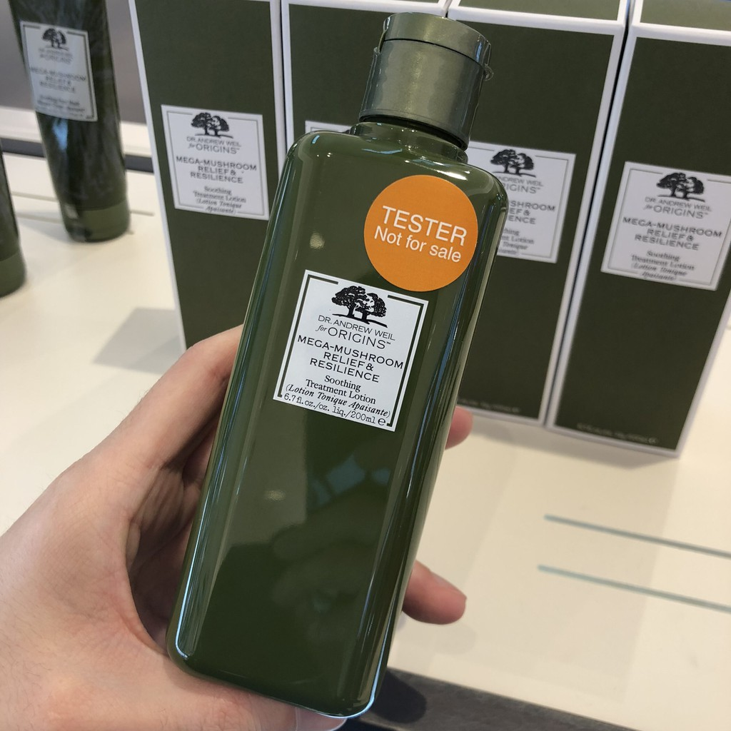 Origins Soothes Skin Mushroom Water To Remove Acne Marks 200ml