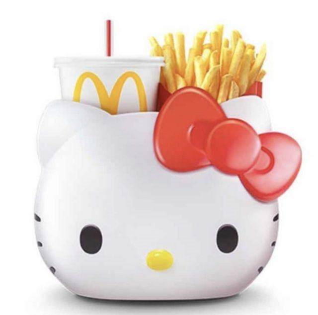 READY STOCK Mcdonald's Hello Kitty/melody Carrier - Limited Edition - Kitty /melody