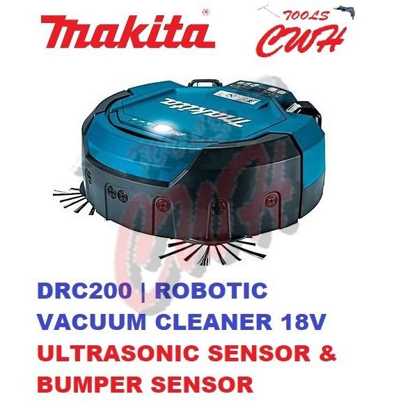 MAKITA DRC200Z 18V CORDLESS ROBOTIC VACUUM CLEANER ROBOT BRUSHLESS MOTOR DRC200