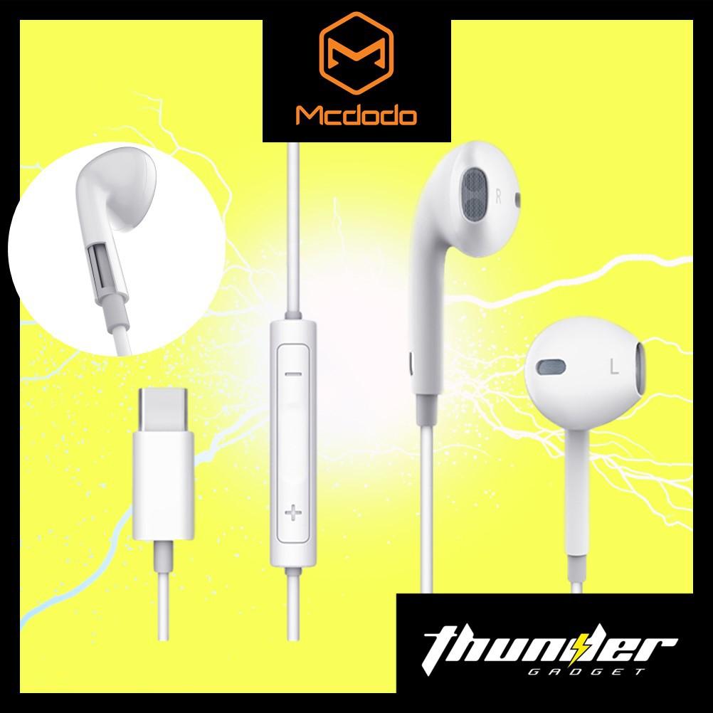 MCDODO HP-6070 EARPLUG TYPE-C EARPHONE