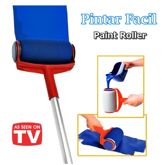 Pintar Facil Paint Roller Kit Wall Painting Brush Tools