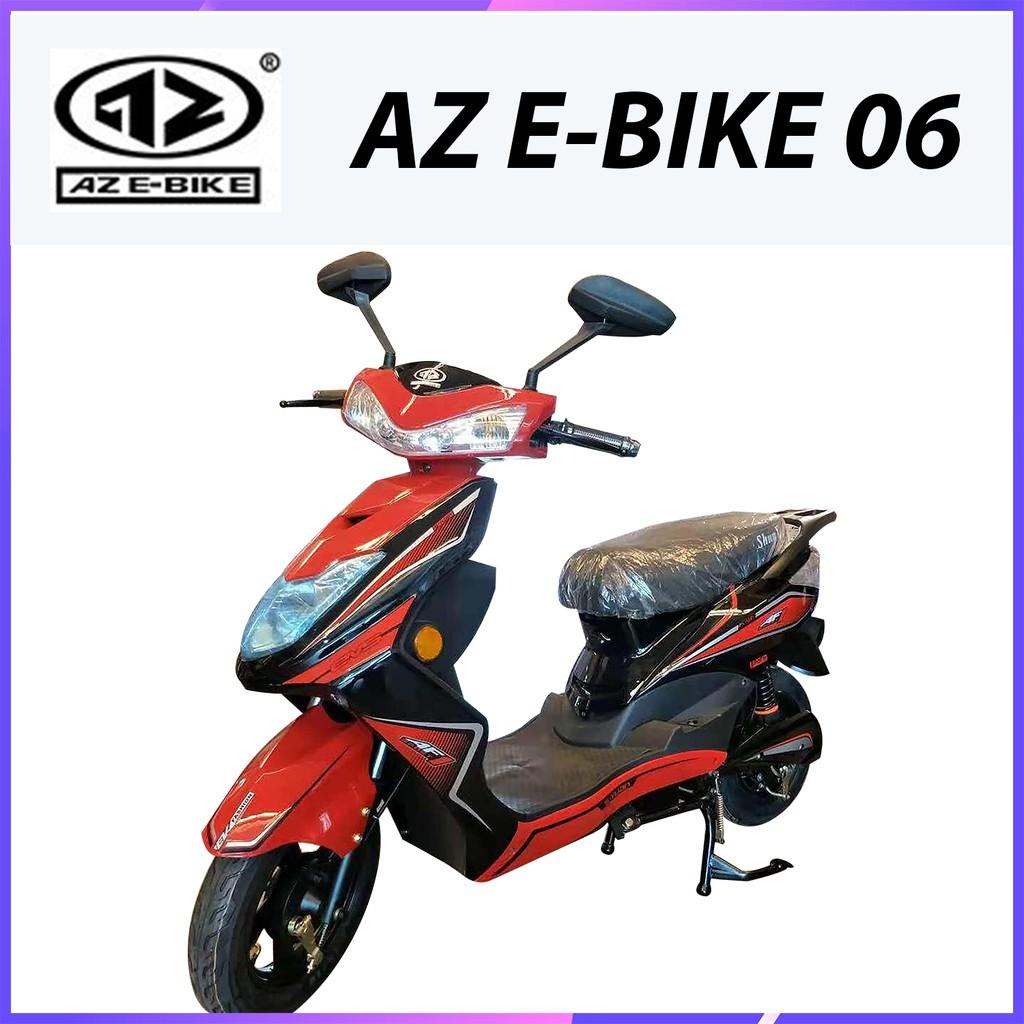 Az E Bike 06 Electric Motorcycle 500w Shopee Malaysia