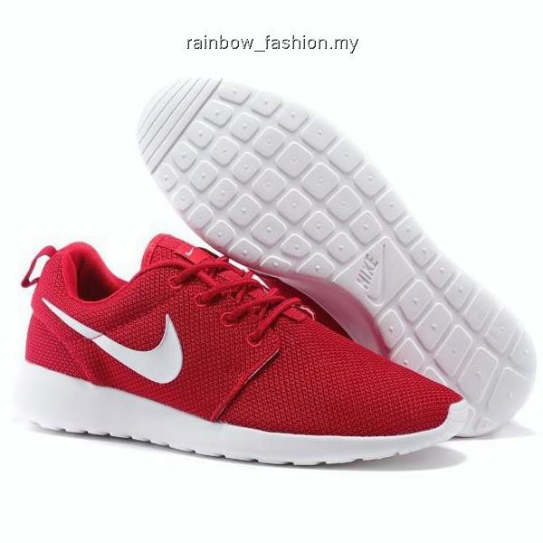 super popular 793f0 dcd0f Original Nike Men's and Women's Roshe One Run Running Shoes Red