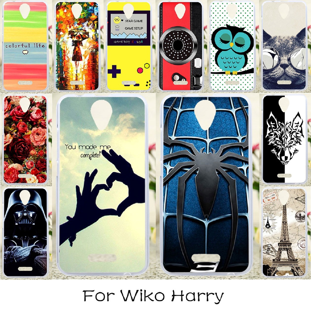 Wiko Harry 5 0 INCH Cover Phone Case Soft Cases Silicone Covers