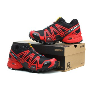 buy popular e9d60 390e1 Zapatos Salomon SPEEDCROSS 3 CS women shoes black and red