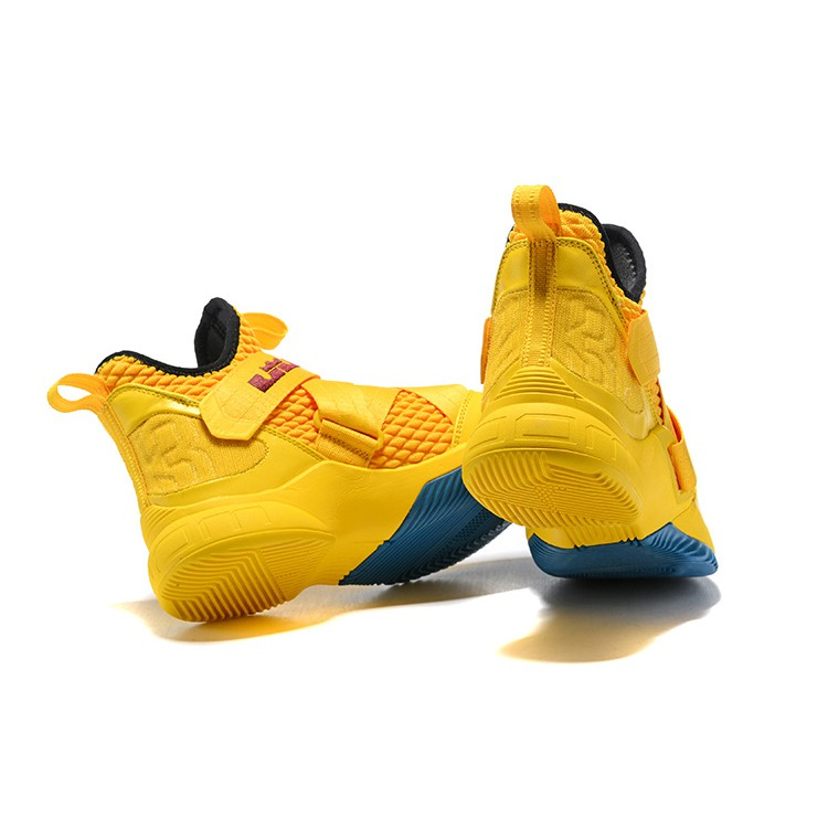 Ready Stock Lebron James Soldier 12 Lbj Nike Basketball Shoes Knight Yellow With Box Shopee Malaysia