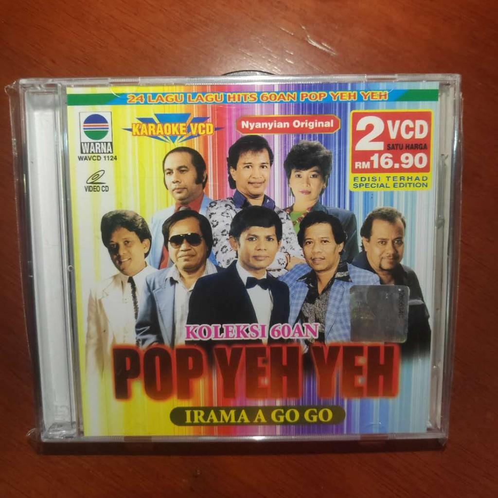 Vcd Kalaoke Pop Yeh Yeh 24 Lagu Lagu Hits 60an Pop Yeh Yeh Koleksi 60an Shopee Malaysia