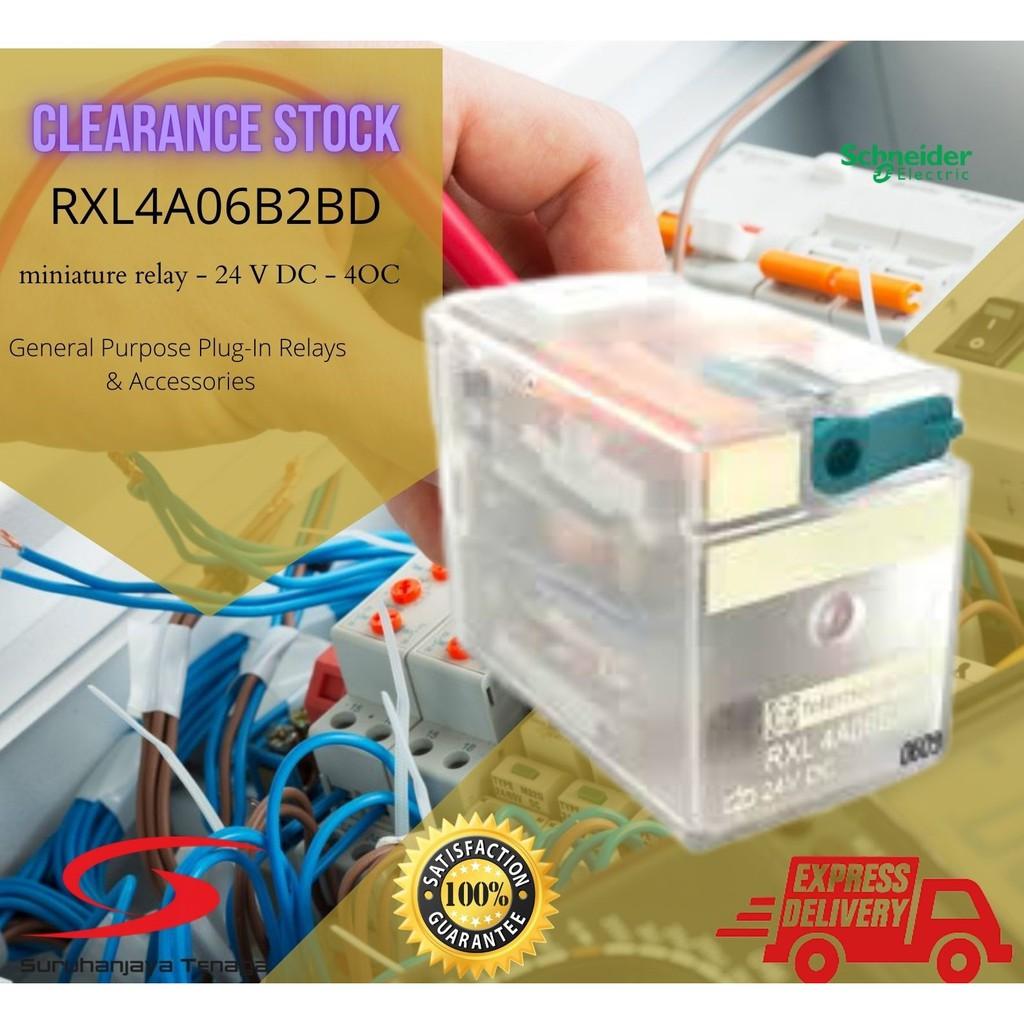 Schnieder Small relay RXL4A06B2BD miniature relay 24V