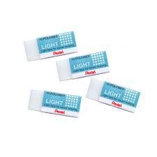 Pentel Hi-Polymer Eraser LIGHT ZEL-05 48pcs/box