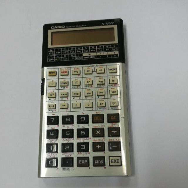 Casio fx-4000p programmable calculator vintage 1985 new old stock