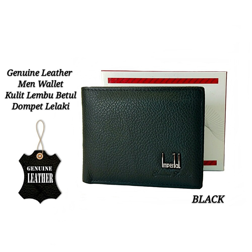 Good Quality Genuine Leather Zipper Short Men Wallet Zip Kulit Dompet Lelaki   f4c579c943