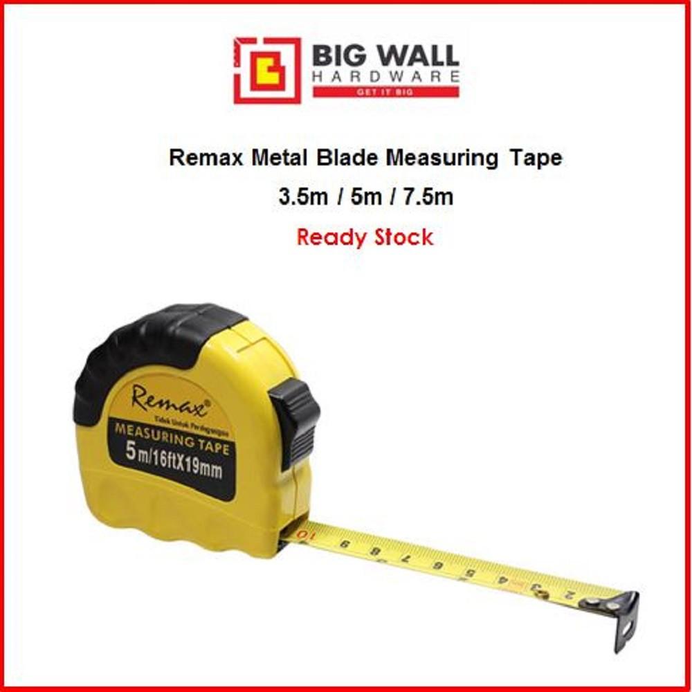 Remax Metal Blade Measuring Tape 3.5m/5m/7.5m