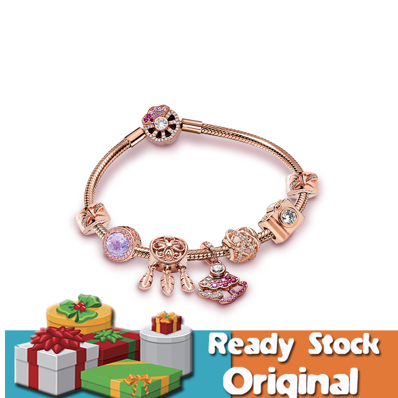Ready Stock Pandora Bracelet Young Name Li Xikan With The Same Paragraph Rose Gold Smart Young Bracelet Charm Fashion Accessories 925 Silver Charm Women Gelang Gift Shopee Malaysia
