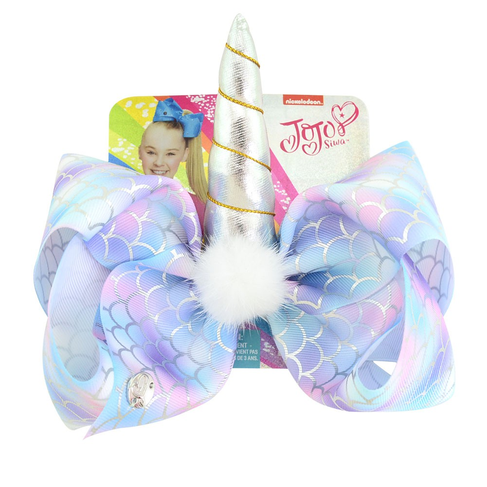 "8/"" Angel Wings Rhinestone Hair Clips Bowknot Ribbon Hair Bows Hair Accessories"