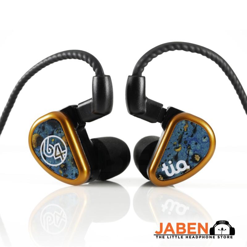 64 Audio tia Fourte 3BA 1DD Hybird HiFi Detachable 2-Pin In-Ear Earphones [Jaben]