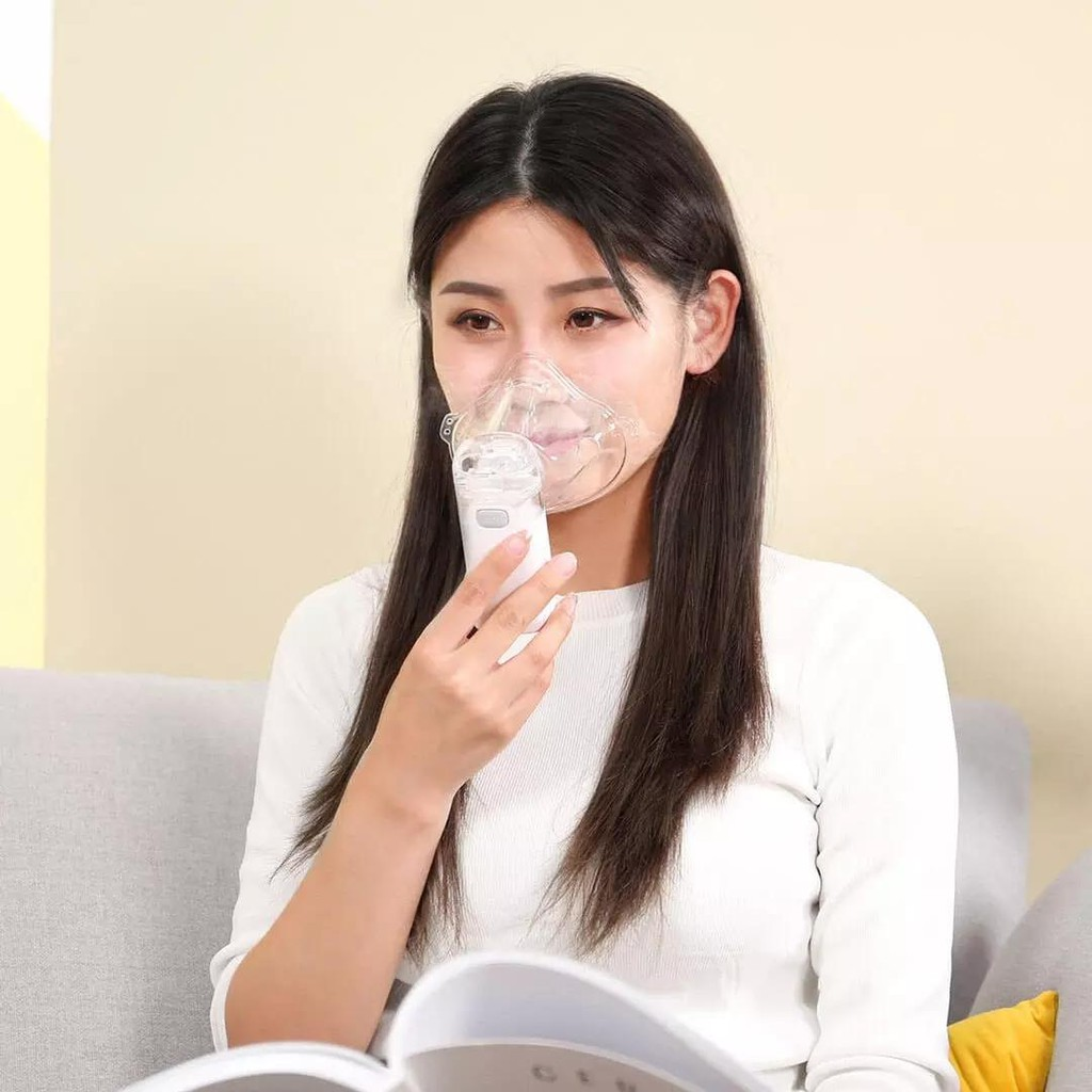 Andon VP-M3A Portable Nebulizer Silent Atomizer Handheld 0.2ml/min Rate Asthma Respirator Humidifier For Kids Adult