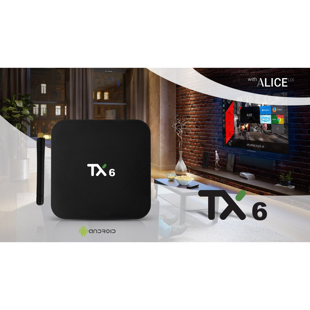 Tanix TX6 TV Box Allwinner H6 Android IPTV Box