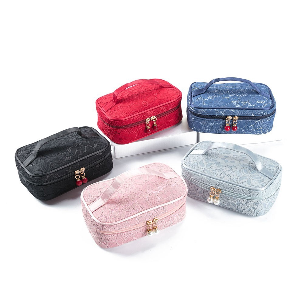41b98fd37171 Waterproof Travel bag FL Toiletry Bag Cosmetic Portable Makeup Pouch