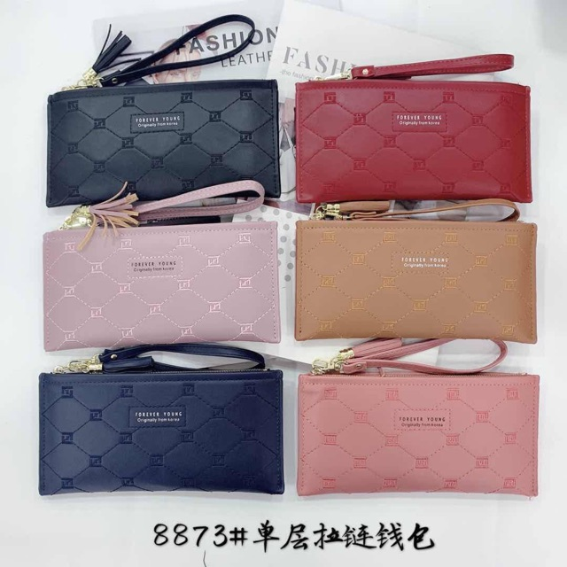 [Promotion] Korean Forever Young Good Quality casual Wallet Purse