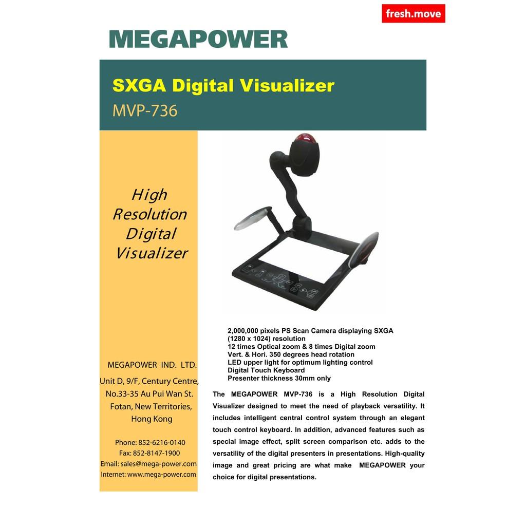 Megapower MVP 739 Visualizer   Shopee Malaysia