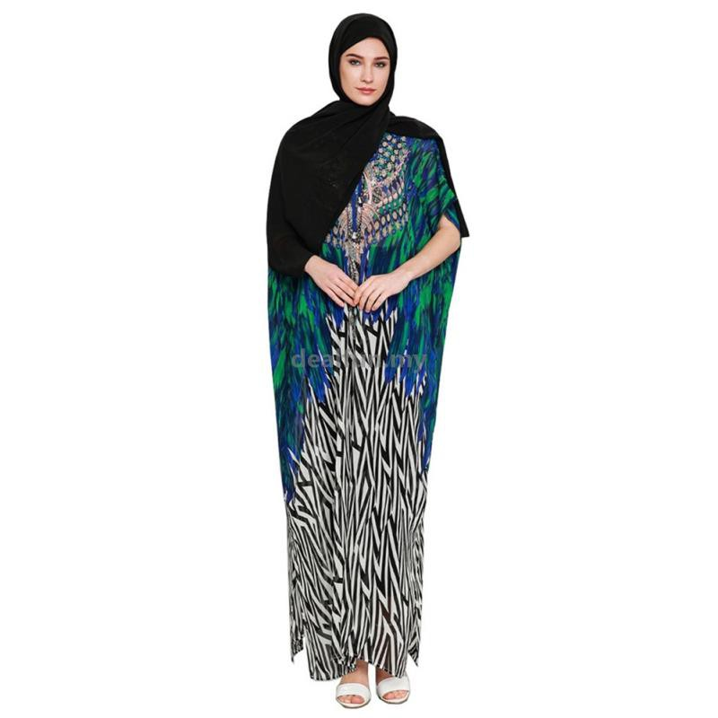 79727b94661e Women Long style Muslim Islamic Robe Kimono Instant Hijab Arab Turkish  Worship Prayer Garment Maxi