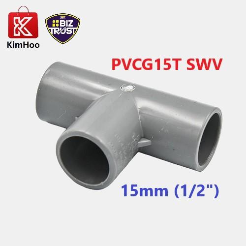 High Quality PVC Equal Tee SWV 15, 20 & 40mm