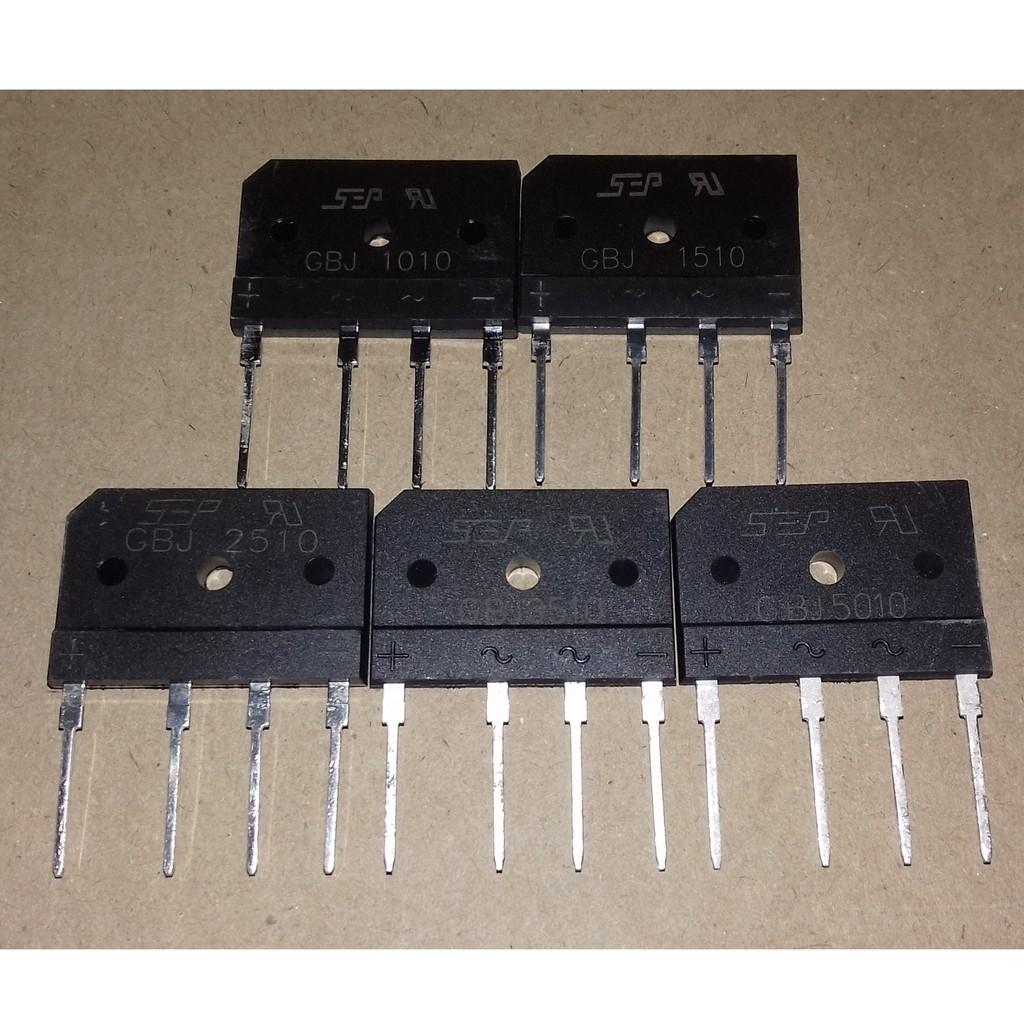 GBJ1010 GBJ1510 GBJ2510 GBJ3510 GBJ5010 SINGLE-PHASE