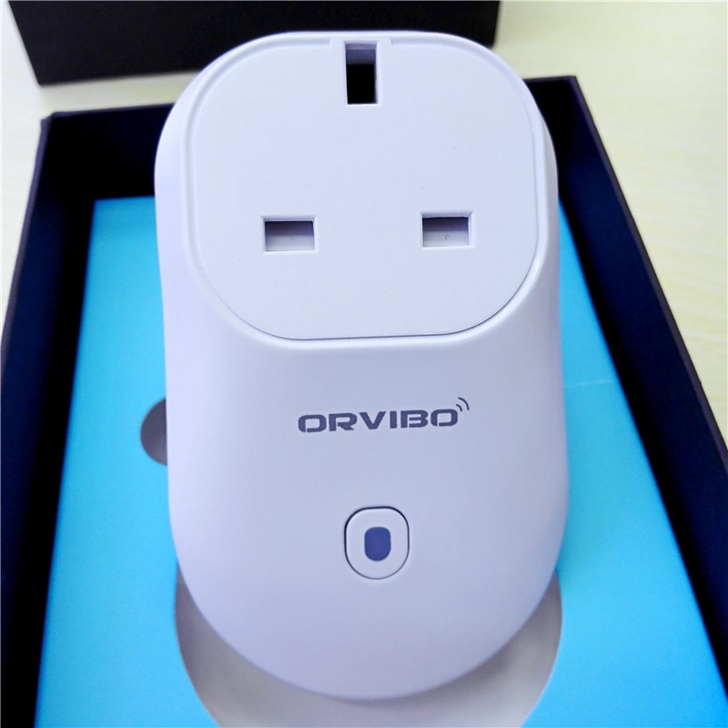Orvibo S20 B25UK WiFi Wireless Socket Plug Switch Mobile Remote Control Timer