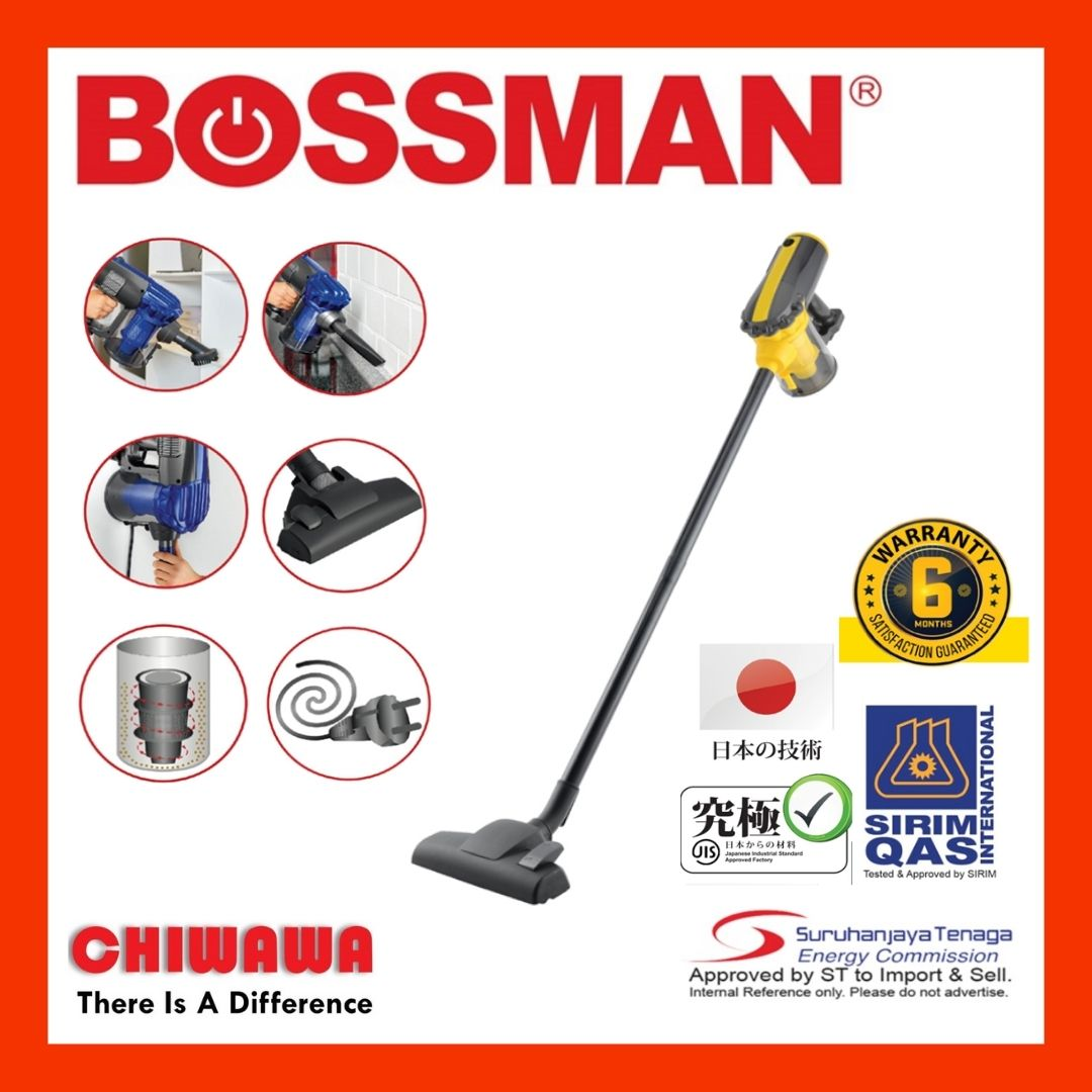 BOSSMAN 600W Handheld Dry Vacuum Cleaner BVC600 / BVC 600