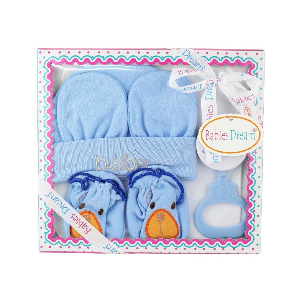MYBB Baby Boy Gift Set - Blue (5's) 0618BGSP03A