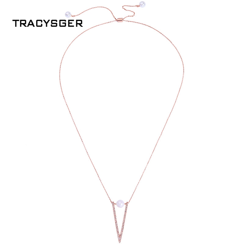 647da4a97ee ProductImage. ProductImage. Simple fashion short diamond pearl girl heart  necklace
