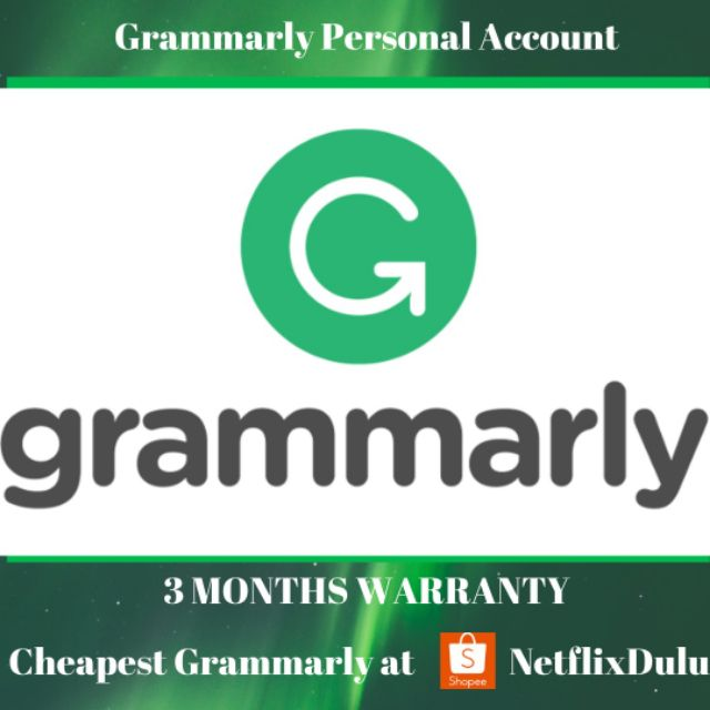 Grammarly Personal Premium Account