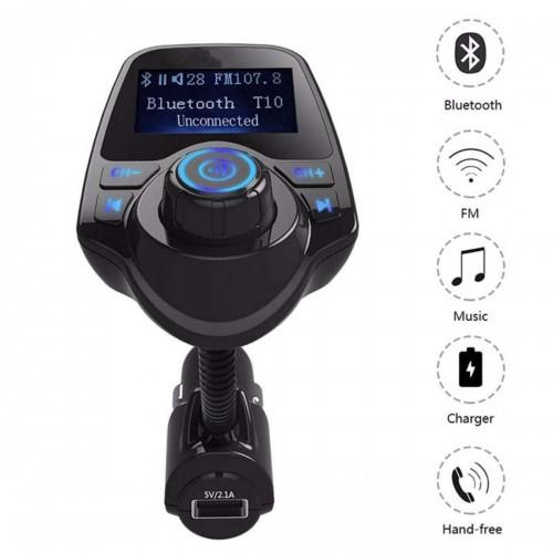 Multifunction Car Wireless MP3 Player Transmitter / Modulator T10