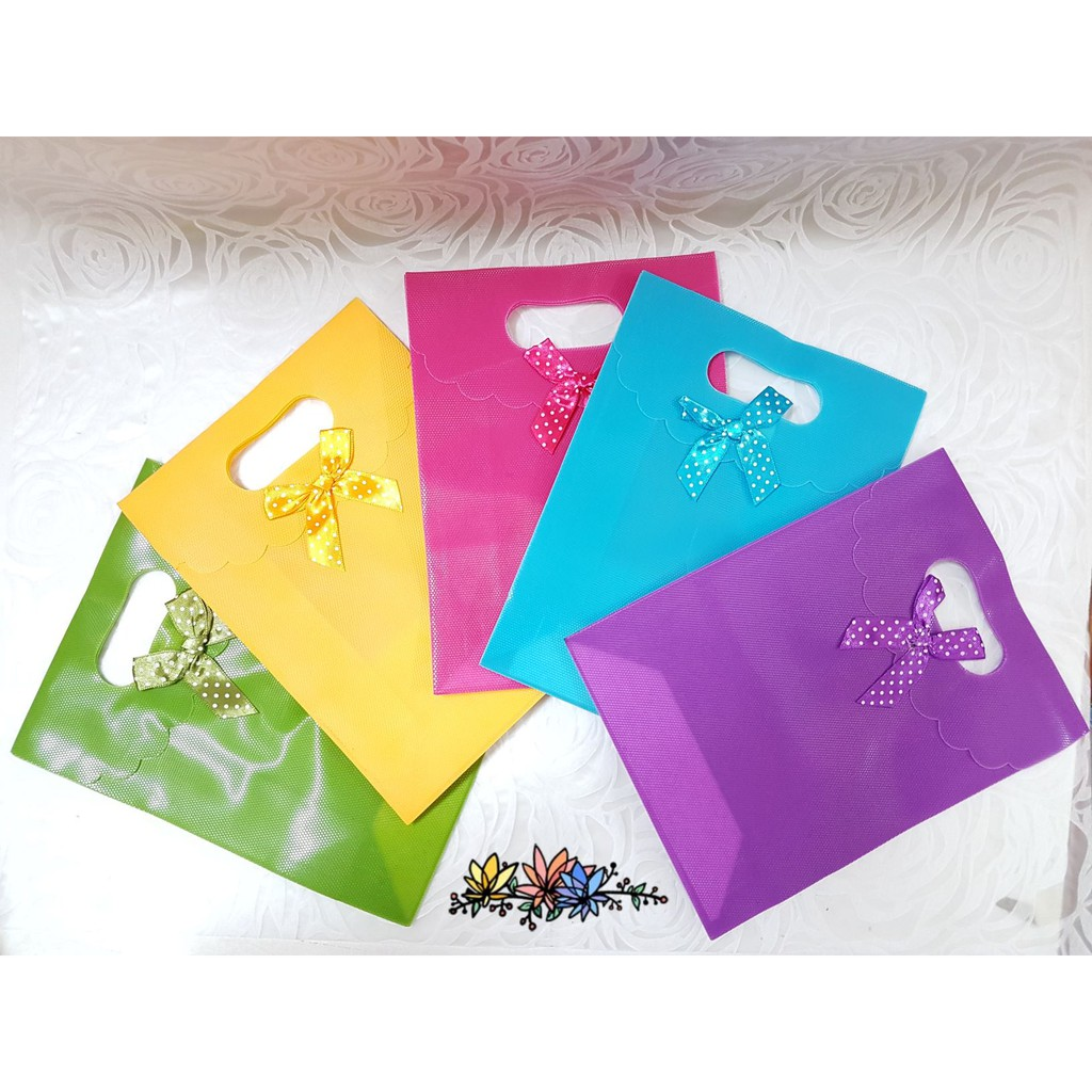 PVC Quality Bag With Handle (10pcs)