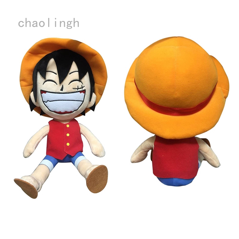 Anime ONE PIECE Doll Smile Luffy Plush Toy Cute Soft Padded Doll Kid Xmas Gifts