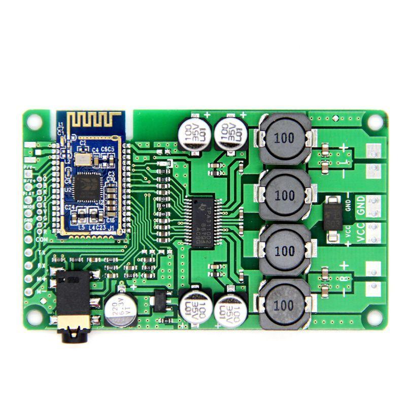 ❤❤ Bluetooth 5 0 Power Amplifier Board 2x15W/10W AUX Audio