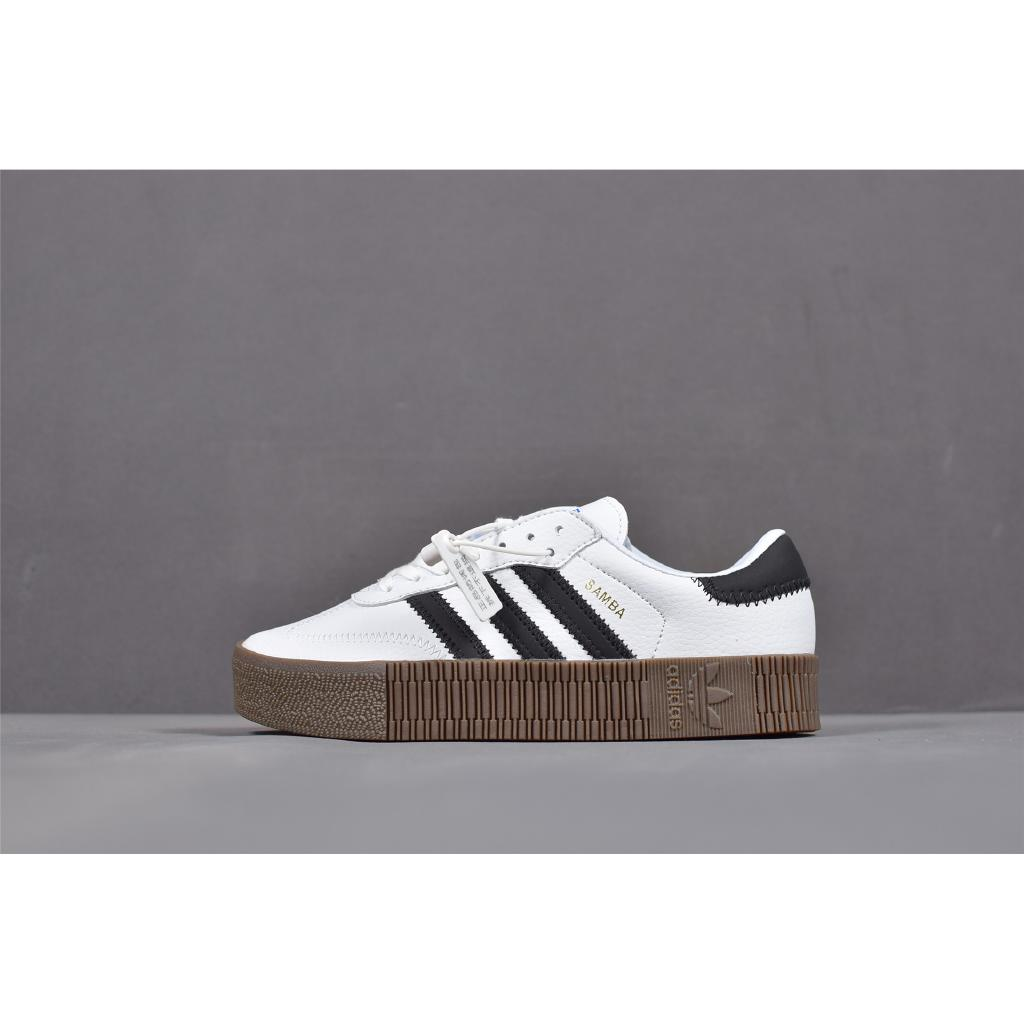 Ready Stock Adidas Originals Sambarose W Sports Couple Thick Bottom Sneakers