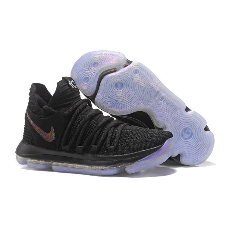more photos 59f7a 83b8b 2018 Nike KD 10 Blackout All Black