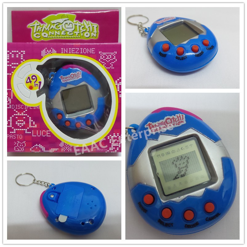 Multi-color Tamagotchi Electronic Pets Toys 49 in 1
